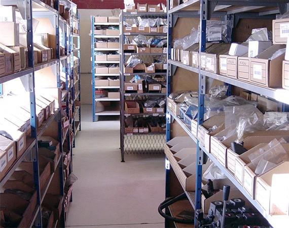 Stock de pièces détachées