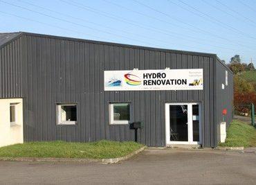 Façade d'Hydro Rénovation Quimper